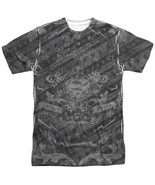 Authentic Superman Submit to Justice Peace Honor Sublimation ALL Front T-shirt - $26.99 - $31.99