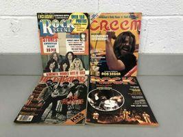 Lot (13) Vintage Rock Scene Hit Parader Creem Magazine KISS 1975-1979 Aerosmith image 3