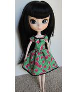 Pullip Jenny Momoko size Handmade Watermelon Doll Dress - $19.97