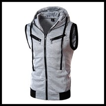2018 Fashon New Sleeveless Hoodies Clothing Men, Outerwear Hoodies Men,Boys Spor - $38.56