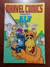 Marvel Comics Presents ALF Mini Ashcan Promo Hasbro 1988 Vintage - $9.85