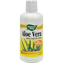Nature's Way Aloe Vera Gel and Juice - 33.8 fl oz, Botanicals and Herbs,... - $12.67