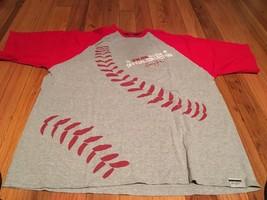 Vintage Sean John Tee Shirt XXL Red And Gray - $19.34