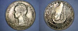 1953 Madagascar 20 Franc World Coin - France - $19.99