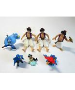 Lot of Vintage  Disney Aladdin PVC Toys Cake Toppers -Genie-Lago-Jasmine... - $9.50