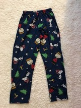 Peanuts Snoopy and Charlie Browns Comfy Lounge Pajama Pants Size Small - $15.79