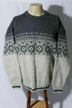 Woolrich Outdoorwear Men's Wool Blend Crew Neck Sweater Made in USA sz M - $49.45