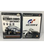 Gran Turismo 4 + Action Replay ULTIMATE CODES For GT4 Playstation 2 PS2 ... - $23.69
