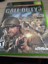 MicroSoft XBox Call Of Duty 3 image 1
