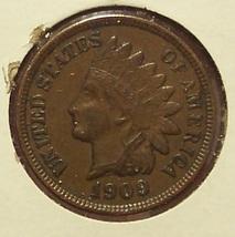 1909 Indian Head Penny EF #0401 - $19.99