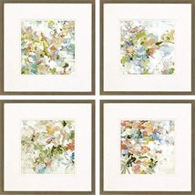 Paragon Wall Art Paintings Floral Blush S/4 17 H x 17 W x 1 D - $299.00