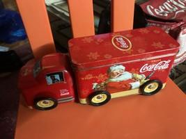 Coca Cola Tin Truck w/Santa - $59.40