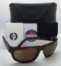 Nuovo Vuarnet Occhiali da Sole Vl 1412 0005 Havana Tartaruga Frame W/PX2000