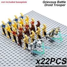 22 PCS/Set Star Wars GRIEVOUS BATTLE DROIDS Minifigure Building Blocks T... - $29.45