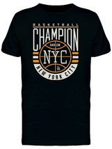 Basket Ball Champion Harlem Men's Tee -Image by Shutterstock - $12.99+