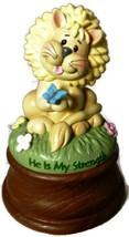Precious Moments BaZooples Lion Musical Figurine ©2013 - $23.33
