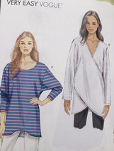 Vogue Sewing Pattern 9111 Ladies Misses Top Size XS-M New - $19.01
