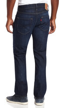New Levi's Mens Original Fit Straight Leg Jeans Button Fly Galindo Blue 501-1589