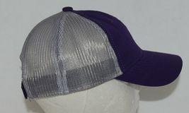 OC Sports Ladies Fit Outdoor Cap Royal Purple Dark Grey FWT130L image 4