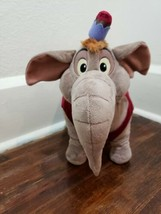 "Disney Store Aladdin Monkey Abu as Elephant 14"" Plush Stuffed Toy - $18.90"