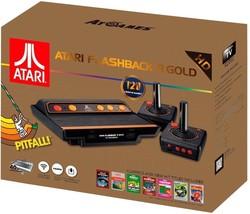Atari Flashback 8 Gold Console HDMI 120 Games 2 Wireless Controllers - $79.98