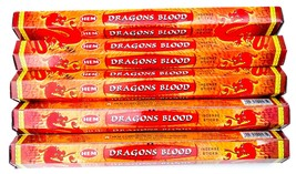 Hem Dragon's Blood Incense Sticks lot 100 for Smudging Aromatherapy Medi... - $7.53