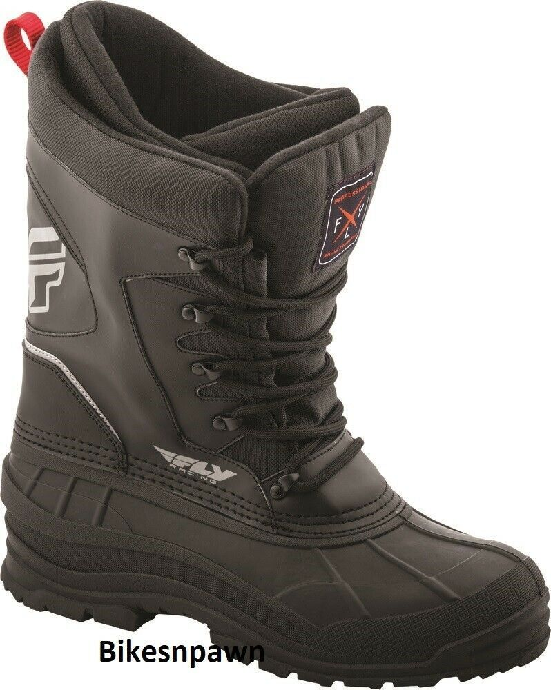 Mens Size 10 Fly Racing Aurora Snowmobile Winter Snow Boots (Womens 12)