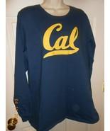 Women's size 3XL CAL long sleeve Tee Shirt Top Navy & Yellow - $14.84