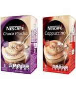 Nescafe 5 x 15 GM Sachets  Cappuccino / Choco Mocha Nescafé - $7.31