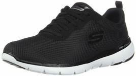 SKECHERS FLEX APPEAL 3.0 - FIRST INSIGHT BLACK / WHITE Women's Sneakers ... - $50.00