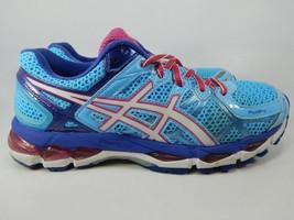 Asics Gel Kayano 21 Taille 8 M (B)39.5 Femmes Chaussures Course Bleu Ciel Rose