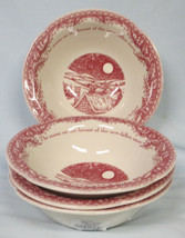 Johnson Brothers Red Twas the Night Cereal Bowl set of 4 - $48.40
