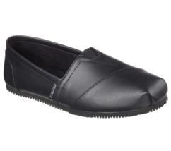 Women's Skechers Kincaid II Slip-Resistant Work Shoe Black Size 7 #UJ783... - $42.56