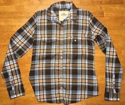 Hollister Women's Multi Color Plaid Long Sleeve Dress Shirt - Size: XS - $14.84