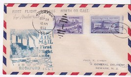 FIRST FLIGHT ROCKFORD, ILL - MILWAUKEE WIS. 9/26/1949 AM-106 - $1.98