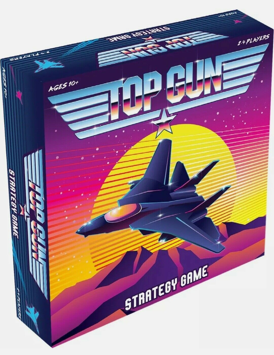Primary image for NEW SEALED 2020 Mixlore Top Gun Strategy Board Game