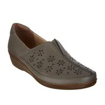 Earth Origins Women Slip On Shoes Everlay Dairyn Size US 9M Sage Brown Leather - $26.94