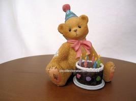 Cherished Teddies Birthday Bear Age 8  1998 NIB - $44.50