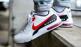 Nike Air Max LTD 3 Trainers White / Black / Red Casual Shoes - $200.97