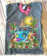 Greyhound Hippie You May Say I'm A Dreamer But Im Not The Only One Ladie... - $19.75+