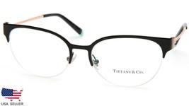 New Tiffany & Co. Tf 1133 6007 Black Eyeglasses Frame 53-17-140mm B40mm Italy - $153.44
