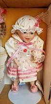 "The Ashton Drake Galleries ""Sarah"" Porcelain Doll with box - $21.77"