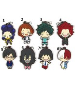 Anime My Hero Academia Boku no Hero Akademia Keychain Keyring Rubber Strap - $4.84 - $32.65