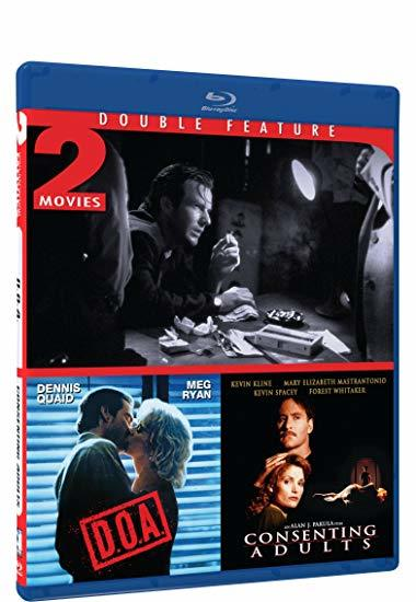 D.O.A. & Consenting Adults Double Feature [Blu-ray]