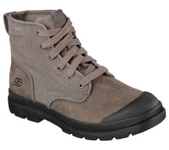 Men's SKECHERS Relaxed Fit Milton - Silvio Boot, 64587 /Char Sizes 8-14 ... - £60.75 GBP
