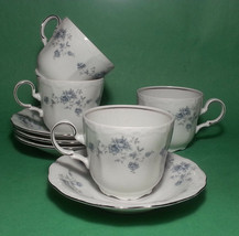 Johann Haviland Bavaria Germany Cup and Saucer Set of 4 - $116.40