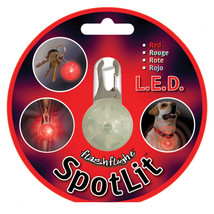 Nite Ize SpotLit LED Carabiner Light Red - $9.78