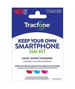 Tracfone Keep Your Own Phone 3-in-1 Prepaid SIM Kit - $1.56