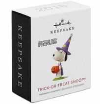 Hallmark  Trick-Or-Treat Snoopy  Miniature  Keepsake Ornament  2018 - $9.89