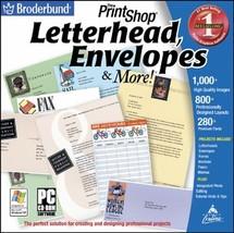 The Print Shop: Letterhead and Envelopes (Jewel Case) - $4.99
